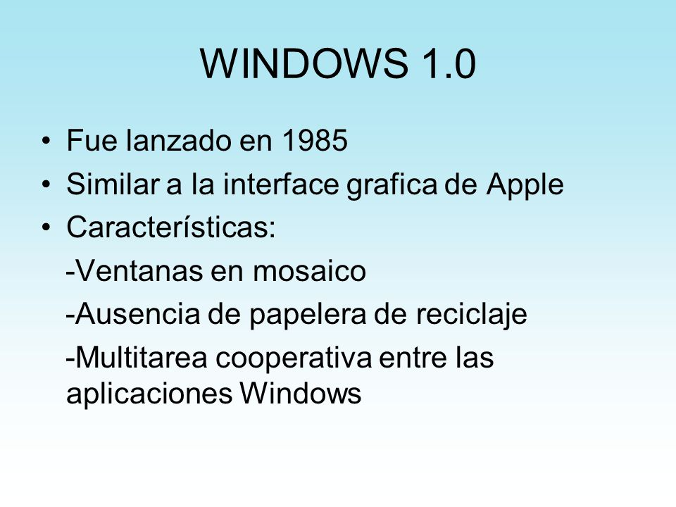 Windows 98 Second Edition Requisitos mínimos: - Microprocesador a 133Mh como mínimo, con soporte MMX.