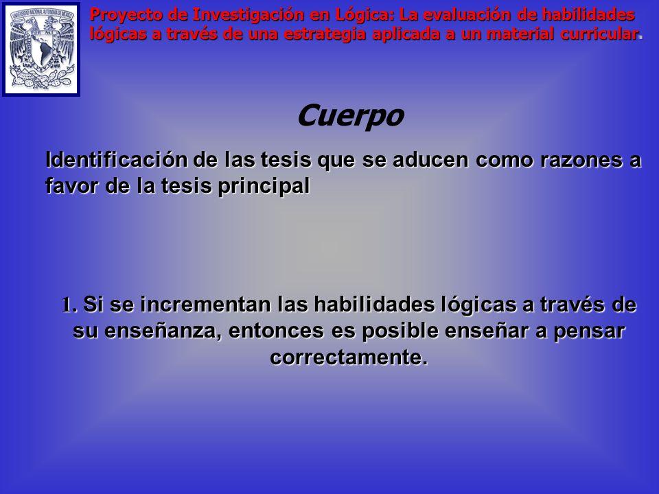 6. El esquema y su criterio Análisis crítico del contexto curricular de las finalidades educativas en lógica en el CCH Análisis crítico del contexto c