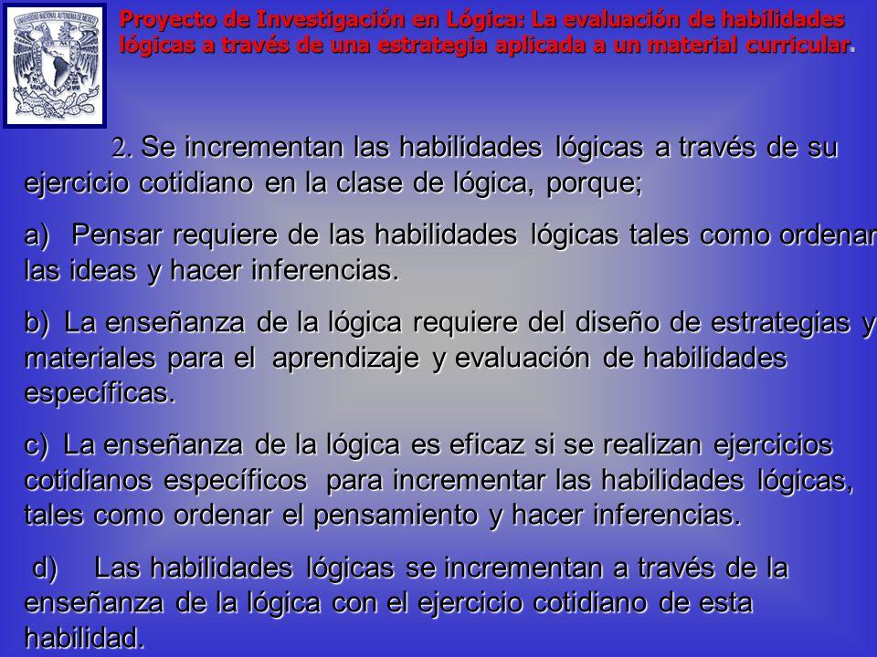 Cuerpo Identificación de las tesis que se aducen como razones a favor de la tesis principal 1.