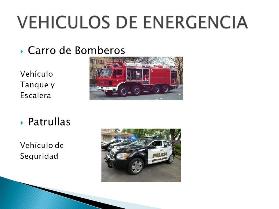 Carro de Bomberos Vehículo Tanque y Escalera Patrullas Vehículo de Seguridad