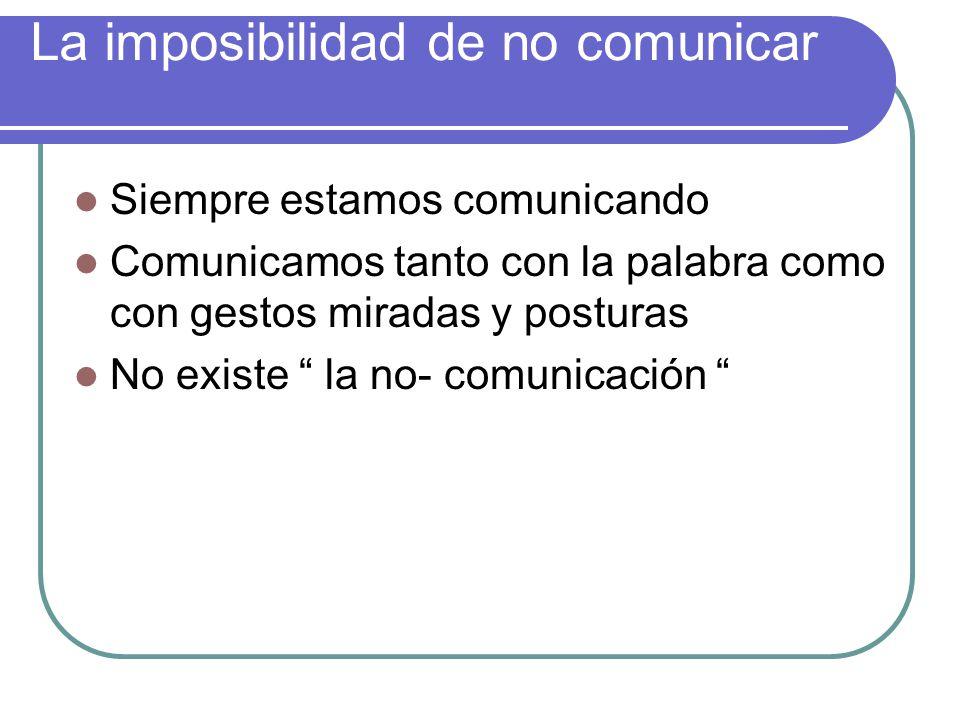 Axiomas de la comunicación Teorías de la comunicación de la escuela de palo alto