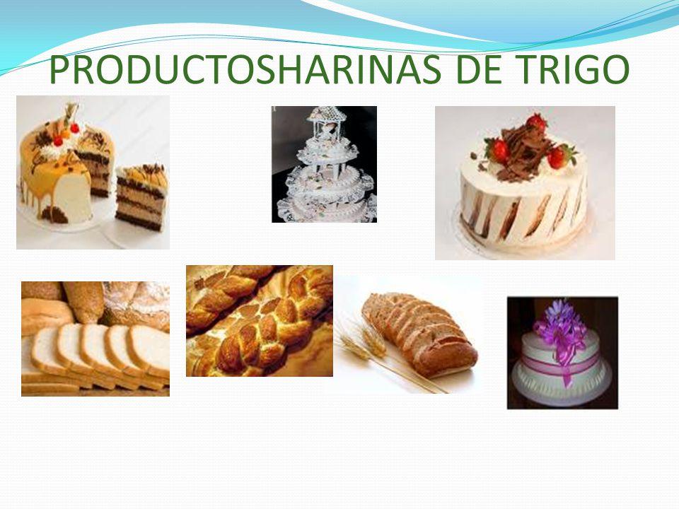 PRODUCTOSHARINAS DE TRIGO