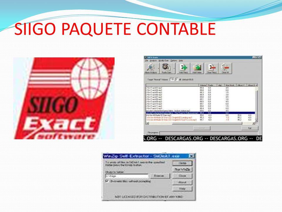 SIIGO PAQUETE CONTABLE