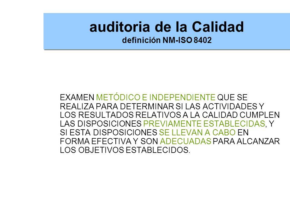 Evidencia de la auditoria Información, registros o declaraciones de hechos verificables.