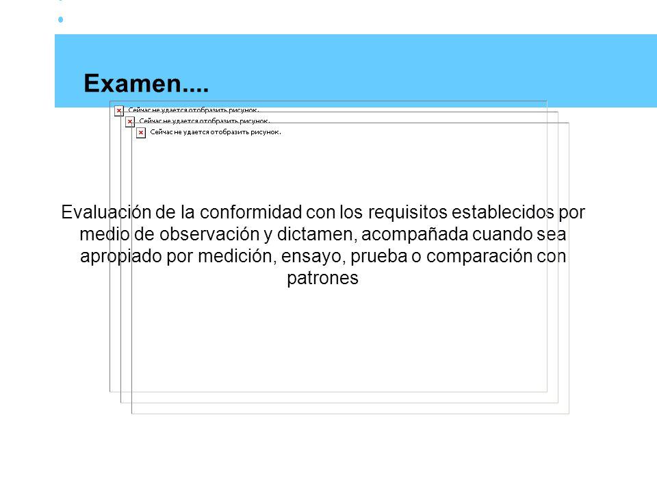 Origen de la evidencia Entrevistas Revisión de la documentación Observación Resultado de mediciones