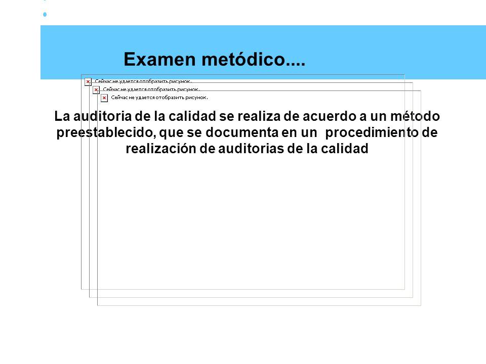 Preparación de la auditoria Fecha y lugar de ejecución de la auditoria Elaboración del programa de la auditoria Revisión preliminar de la descripción del sistema de la calidad del auditado