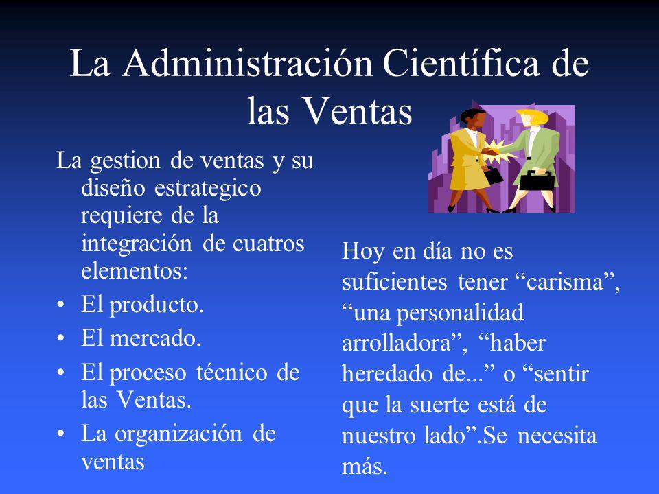 Estrategias de Gestión Comercial 1.La Administración Cientifica de las VENTAS Se necesitan comunicadores. Se hace promoción de ventas. 2.El Manejo de