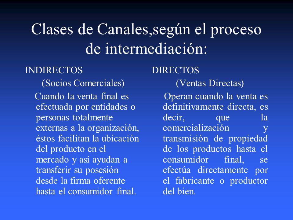El Manejo de los Canales de Distribución. DISTRIBUCION Actividades y decisiones que adelantan las empresas para lograr la transferencia de los product