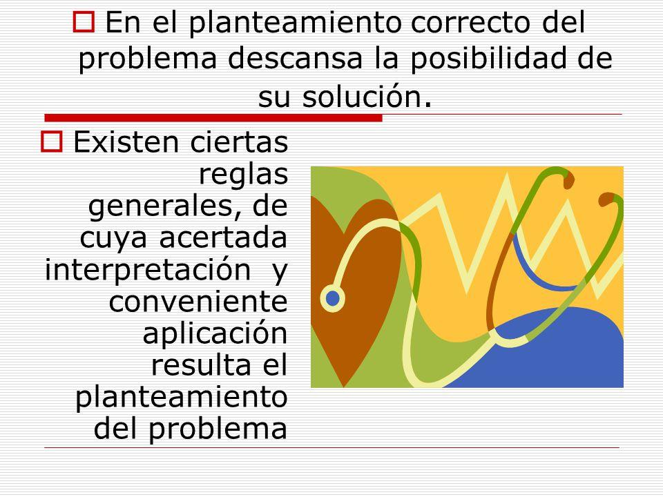 PLANTEAMIENTO DEL PROBLEMA A la vez, en el problema se expresan fundamentalmente los resultados …. Que no se pueden explicar todavía por completo, con