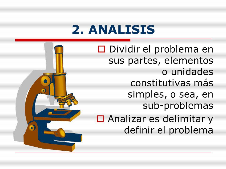 1. DESCRIPCIÓN Es presentar, individualizar y desglosar las características principales (hechos, relaciones o explicaciones) del tema, área de estudio