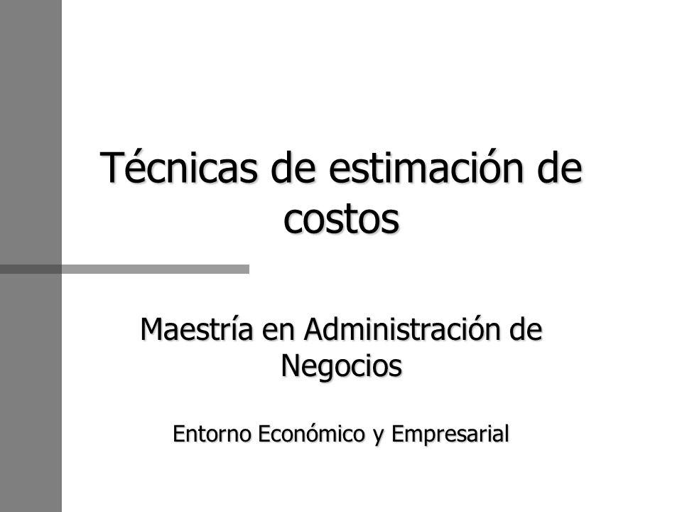 n Conjunto de costos que intervienen en la transformación de los productos.