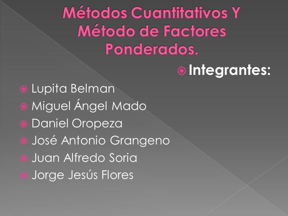Integrantes: Lupita Belman Miguel Ángel Mado Daniel Oropeza José Antonio Grangeno Juan Alfredo Soria Jorge Jesús Flores