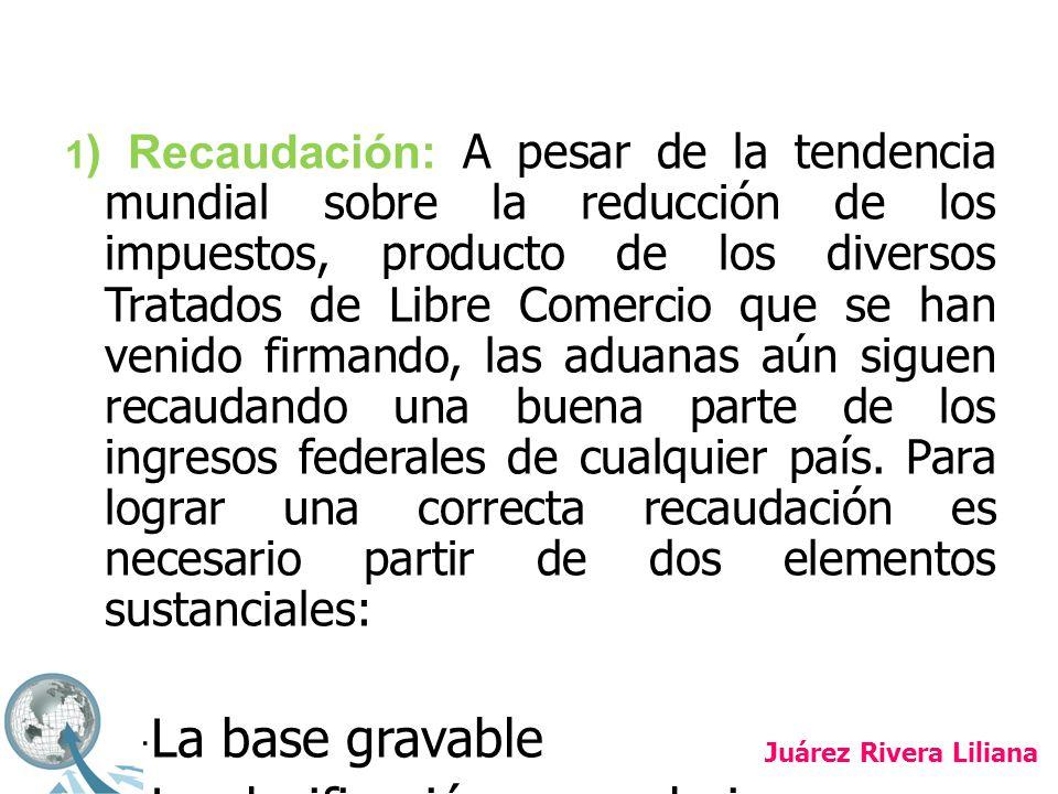 2) Protección: La protección se da por la necesidad de restringir o regular ciertos productos de importación o exportación, necesidad que puede generarse por cuestiones: - ecológicas - de salubridad - flora o fauna - por la aplicación de normatividad (calidad de productos o en la exhibición de la información comercial) Juárez Rivera Liliana