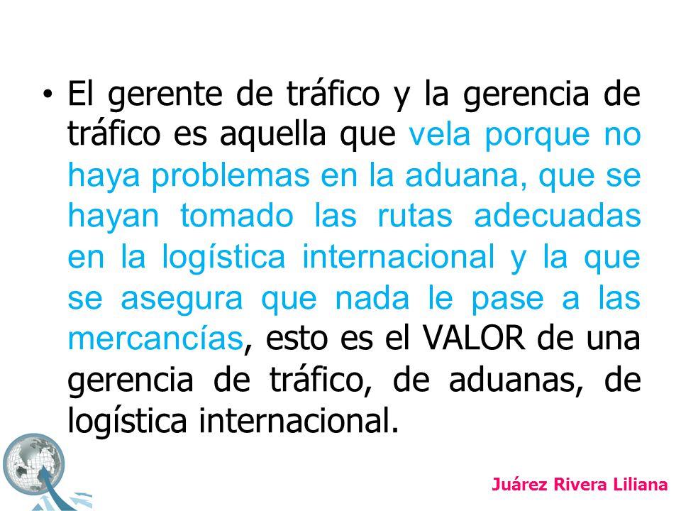 La gerencia de tráfico no puede aislarse de las funciones administrativas y de la tendencia mundial de cualquier gerencia, tendencia que nos lleva a un equilibrio de funciones, EQUILIBRIO que provee elementos para alcanzar la competitividad internacional.