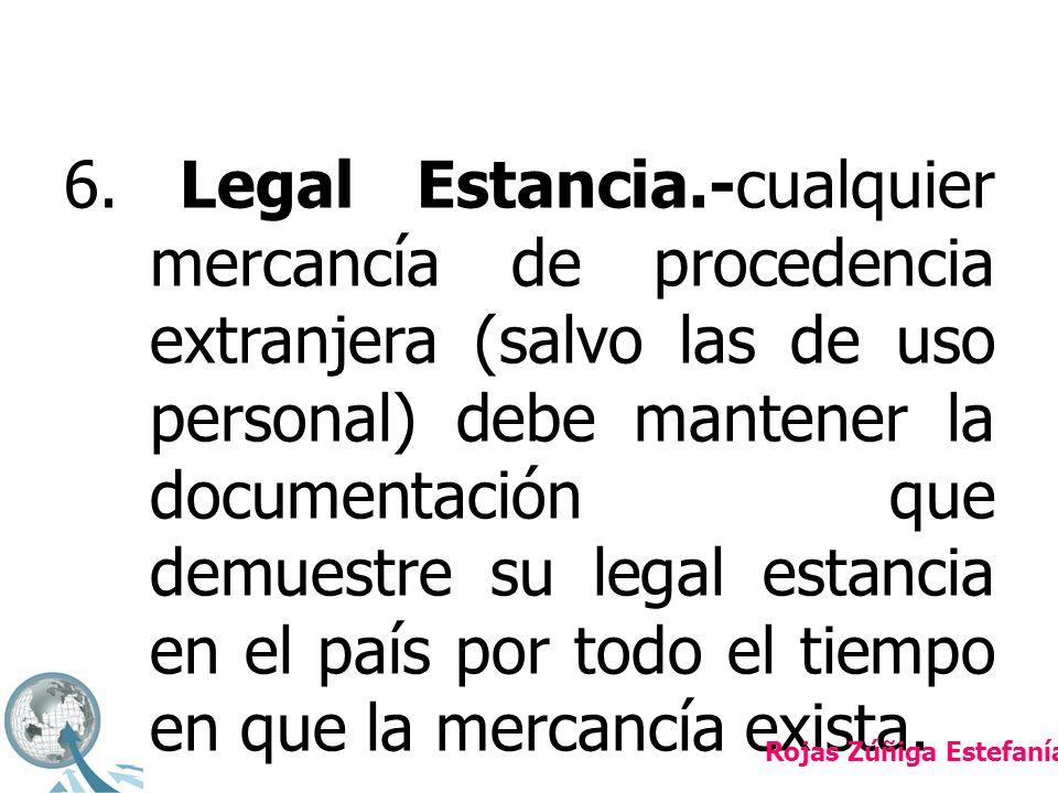 CONTROL DE INVENTARIOS Rojas Zúñiga Estefanía