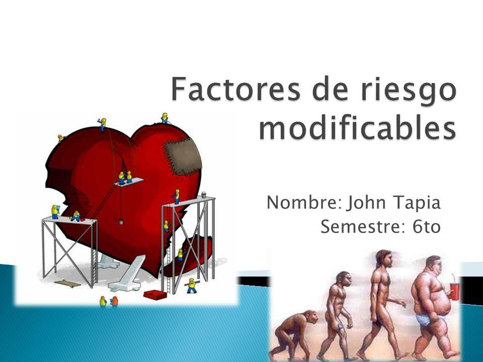 Nombre: John Tapia Semestre: 6to