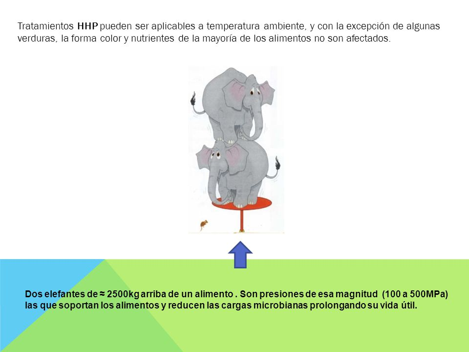 ¿ Como se lleva a cabo una HPP o HHP .