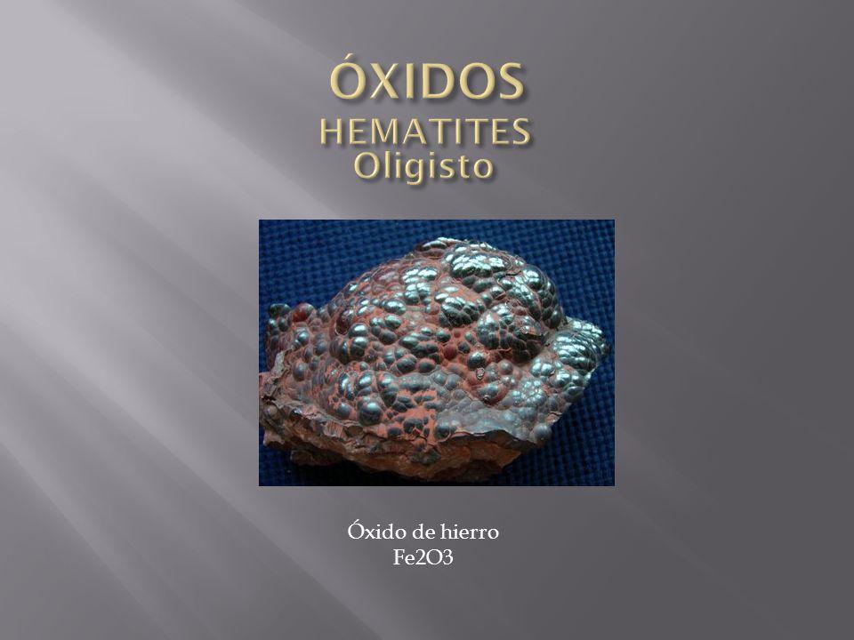 Óxido de hierro Fe2O3