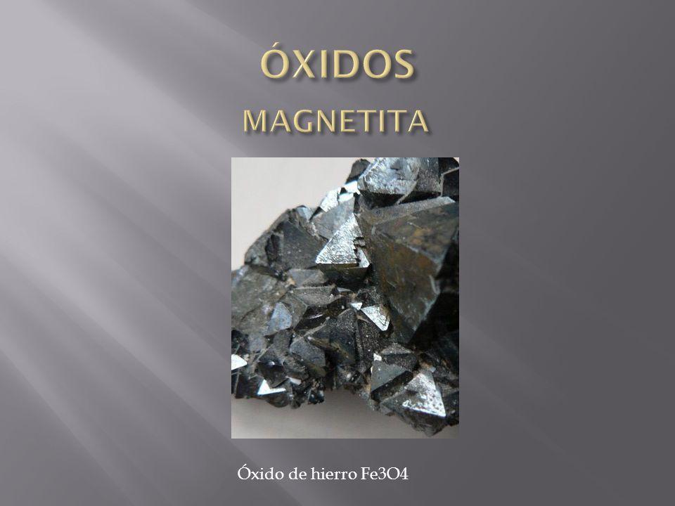 Óxido de hierro Fe3O4