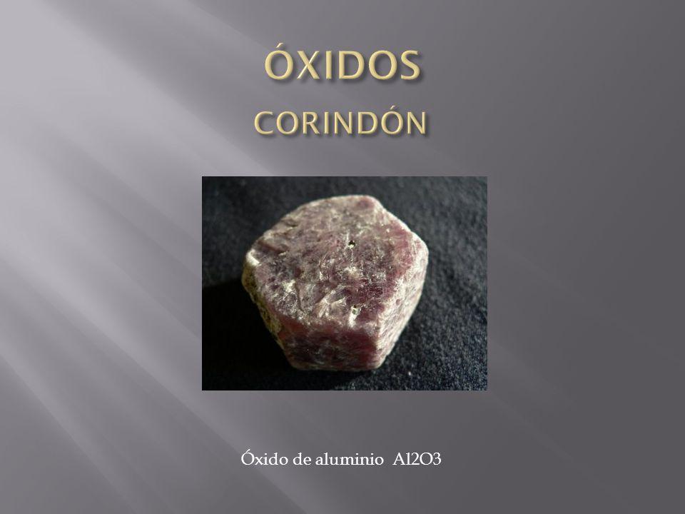 Óxido de aluminio Al2O3