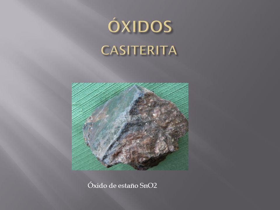 Óxido de estaño SnO2