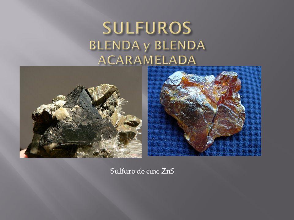 Sulfuro de cinc ZnS