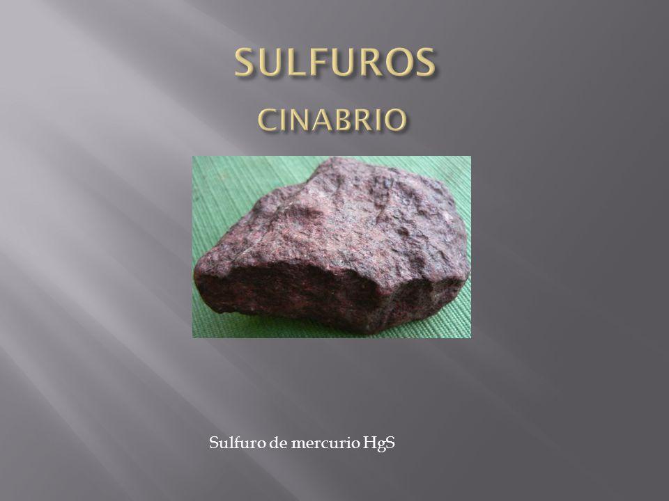 Sulfuro de mercurio HgS