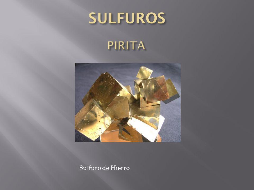 Sulfuro de Hierro
