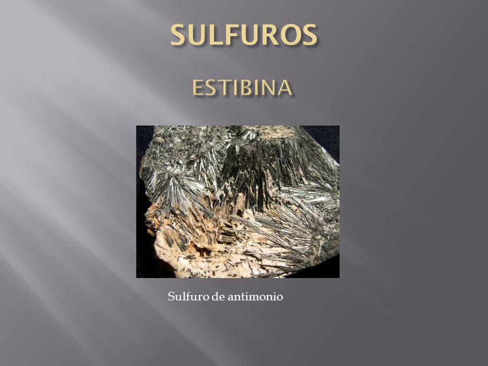 Sulfuro de antimonio
