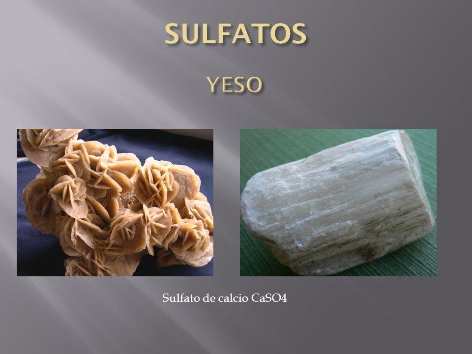 Sulfato de calcio CaSO4