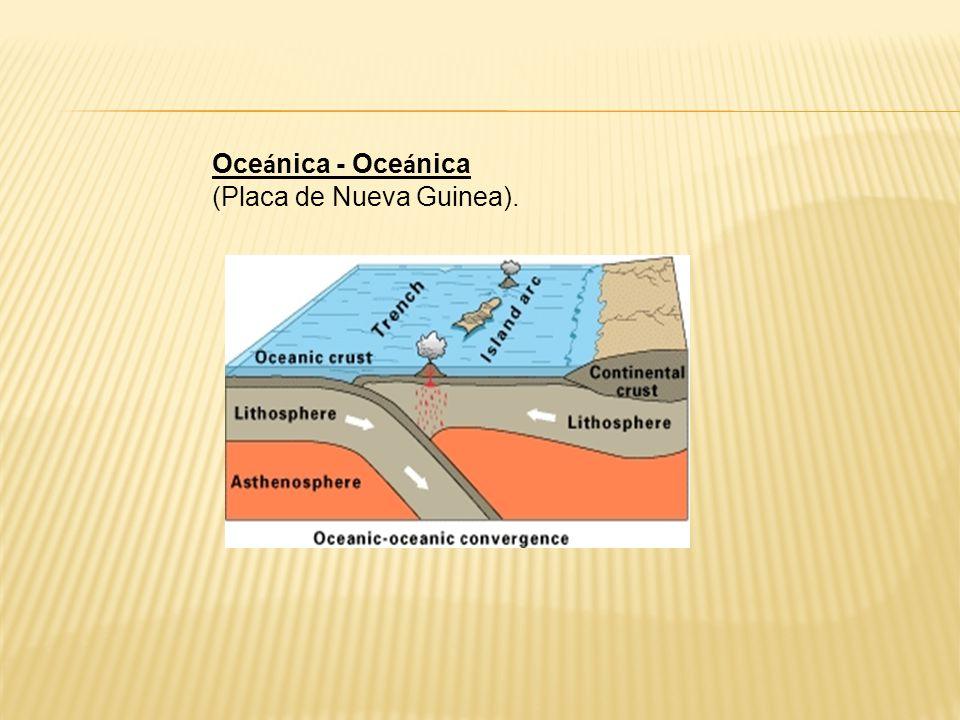 Oce á nica - Oce á nica (Placa de Nueva Guinea).