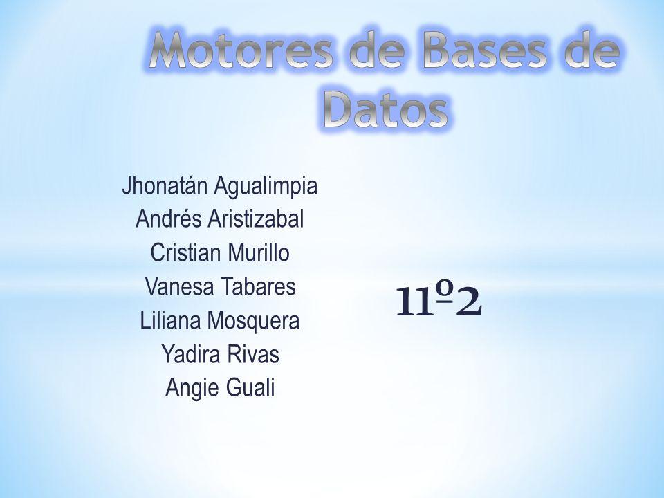 Jhonatán Agualimpia Andrés Aristizabal Cristian Murillo Vanesa Tabares Liliana Mosquera Yadira Rivas Angie Guali 11º2