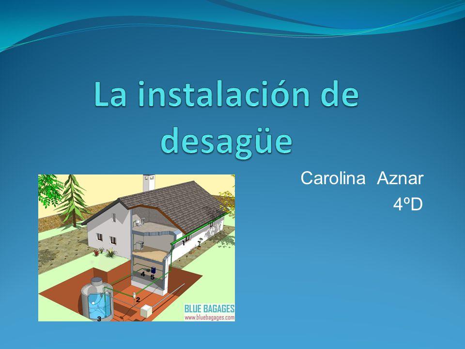 INDICE 1.¿Qué función tiene la instalación de desagüe en una vivienda.