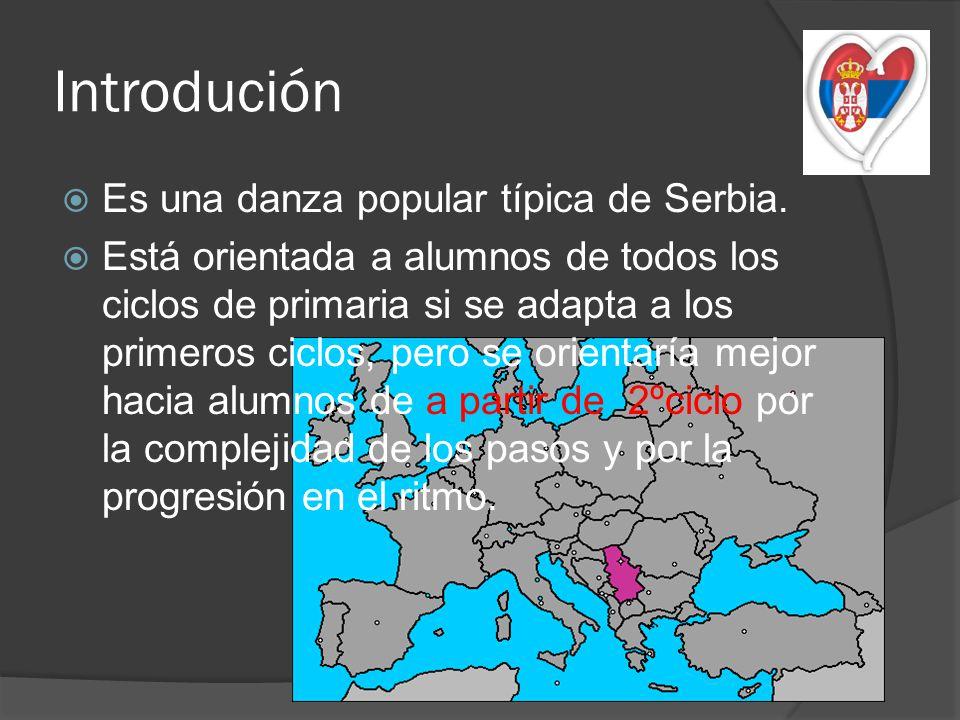 Introdución Es una danza popular típica de Serbia.