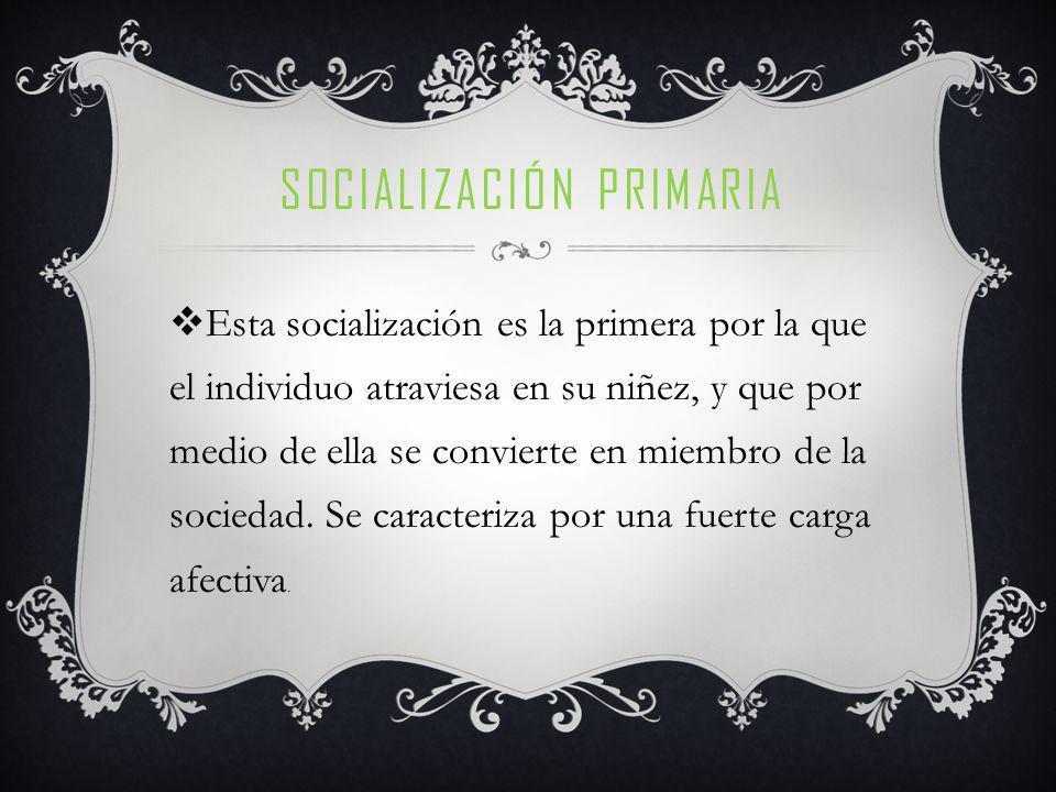 SOCIALIZACIÓN SECUNDARIA El aprendizaje se refiere a la adquisición de nuevos recursos al repertorio de respuestas del individuo y en este sentido su alcance es mas amplio, ya que no todo aprendizaje supone una socialización