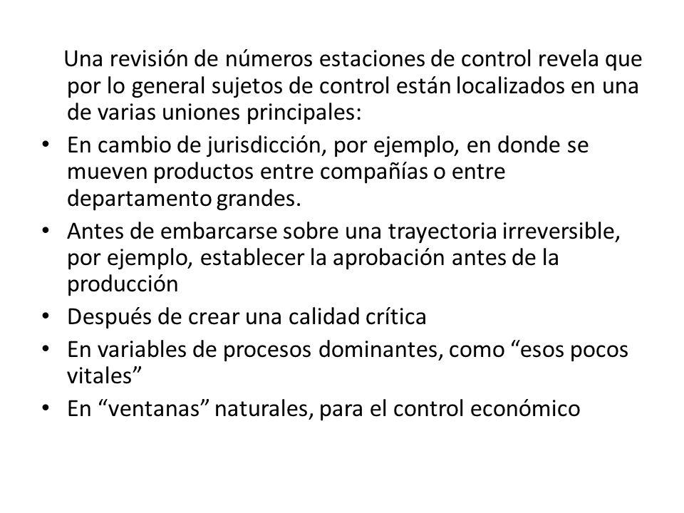 Una revisión de números estaciones de control revela que por lo general sujetos de control están localizados en una de varias uniones principales: En
