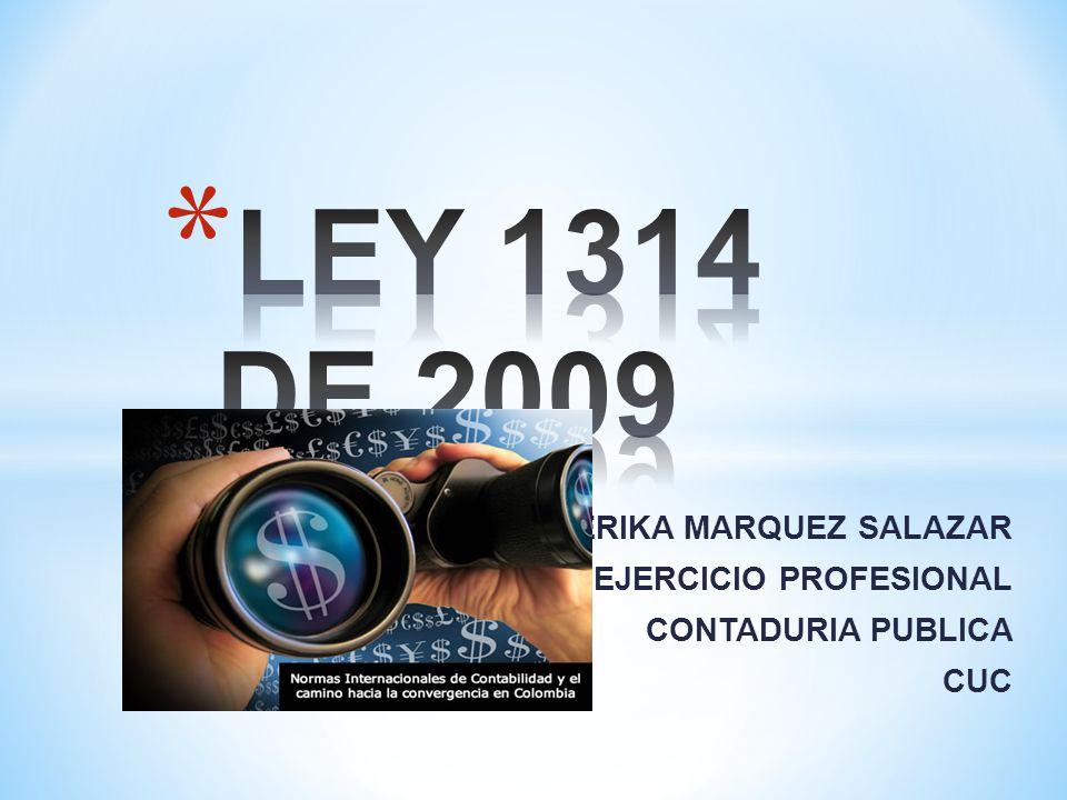 ERIKA MARQUEZ SALAZAR CODIGO DEL EJERCICIO PROFESIONAL CONTADURIA PUBLICA CUC