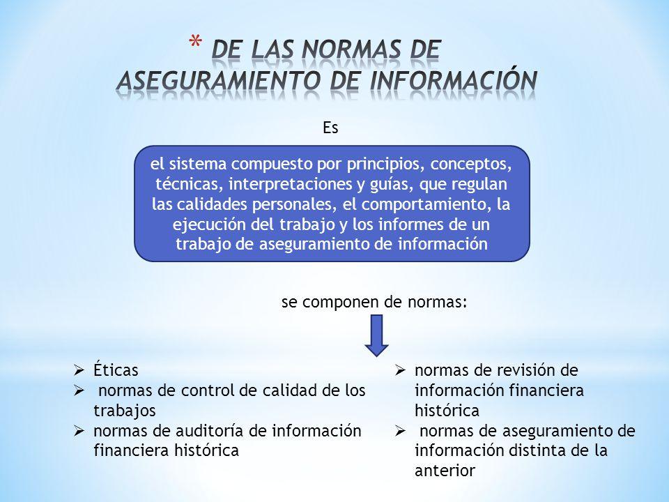 Es el sistema compuesto por principios, conceptos, técnicas, interpretaciones y guías, que regulan las calidades personales, el comportamiento, la eje
