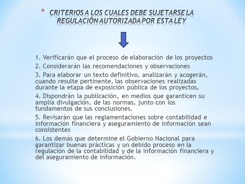 1. Verificarán que el proceso de elaboración de los proyectos 2. Considerarán las recomendaciones y observaciones 3. Para elaborar un texto definitivo