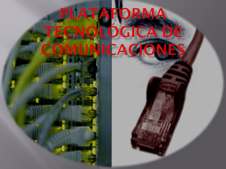 Hace referencia a la forma en que están distribuidas las estaciones de trabajo y los cables que las conectan.