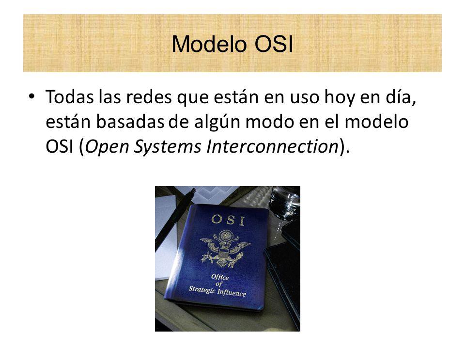 El modelo OSI fue desarrollado en 1984 por la organización internacional de estándares, llamada ISO, el cual se trata de una federación global de organizaciones representando a aproximadamente 130 países.