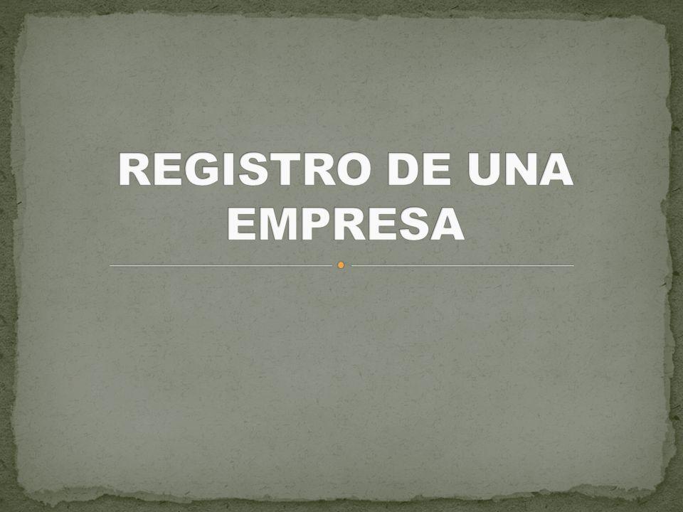 Al tener el nombre de la empresa, se procede a la elaboración de estatutos ante un notario público Registro en la Secretaría de Hacienda y Crédito Público para la obtención registro federal de contribuyentes.