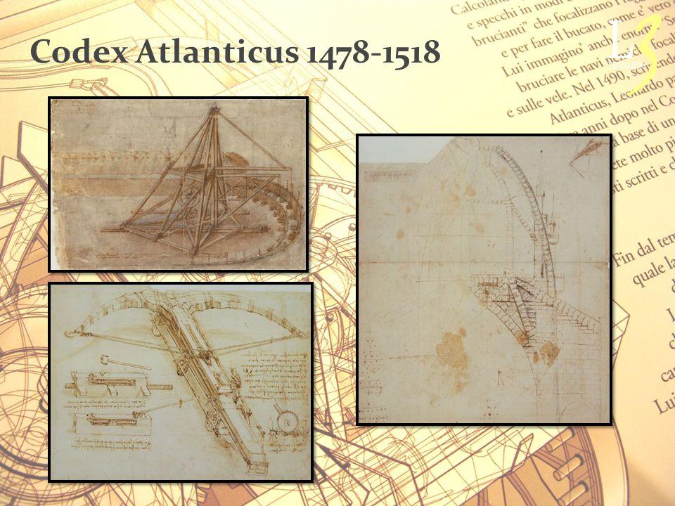 Codex Atlanticus 1478-1518