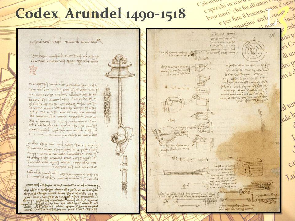 Codex Arundel 1490-1518