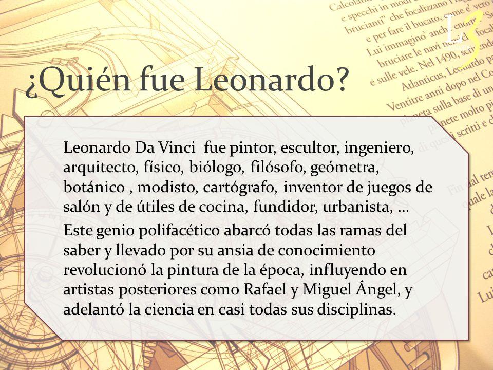 ¿Quién fue Leonardo.