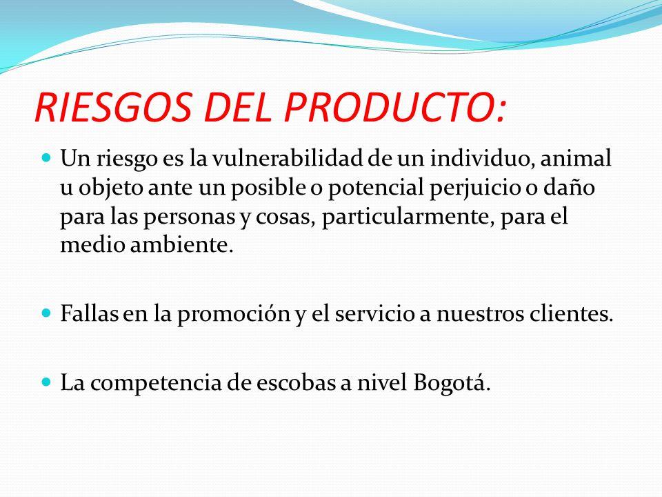 FLUJO DEL PROCESO PRODUCTIVO Y ESCALAS DE PRODUCCION grafica