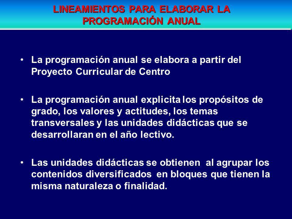 Es un documento técnico pedagógico en el cual se explicita los propósitos de grado y se organiza y secuencia los contenidos en torno a unidades didáct