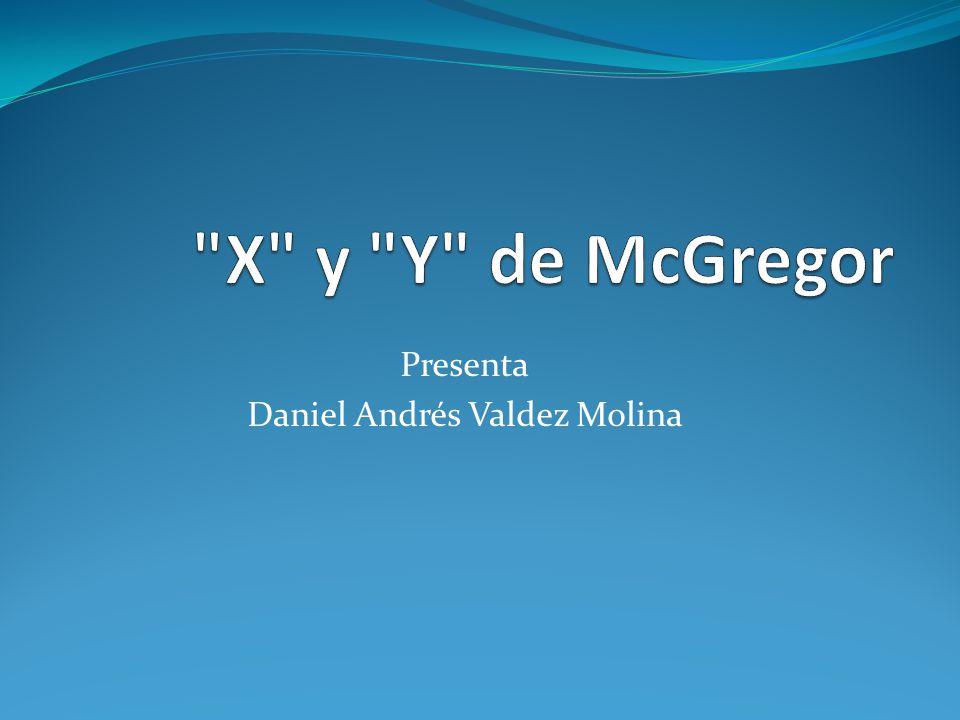 Presenta Daniel Andrés Valdez Molina
