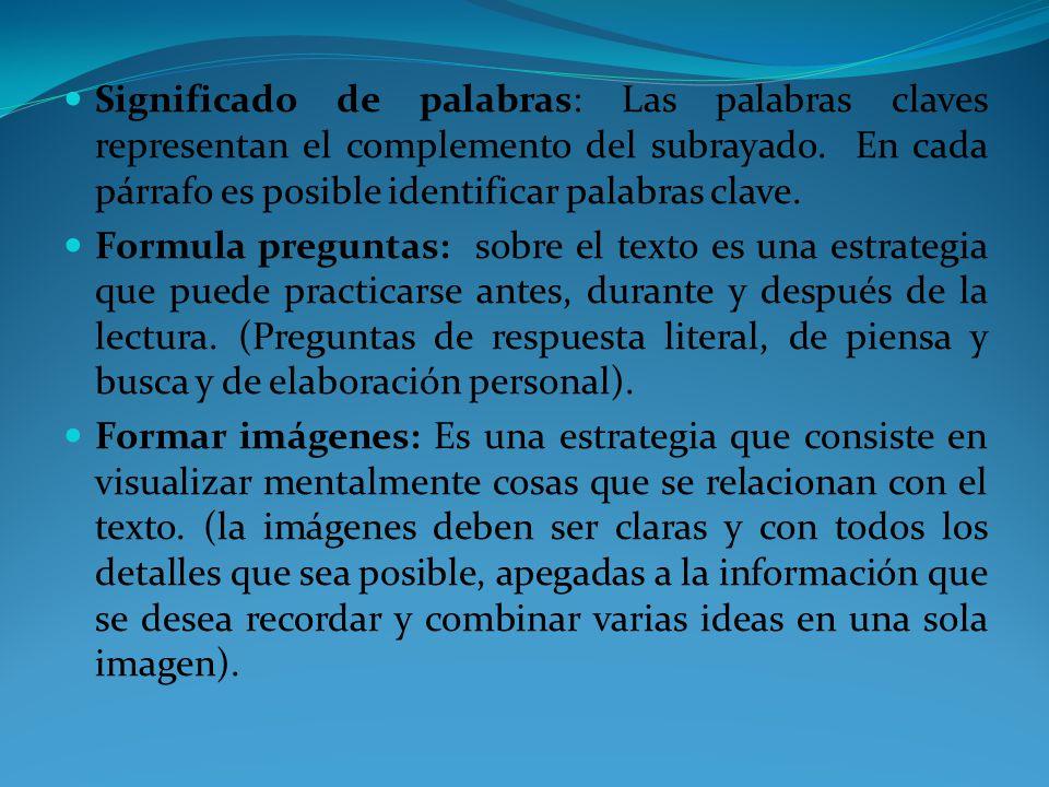 PARA DETECTAR LA IDEA PRINCIPAL PUEDES: Subraya lo más importante del texto (características, definiciones, el hecho o situación, el concepto principal, algún ejemplo, palabras clave, afirmaciones o negaciones).