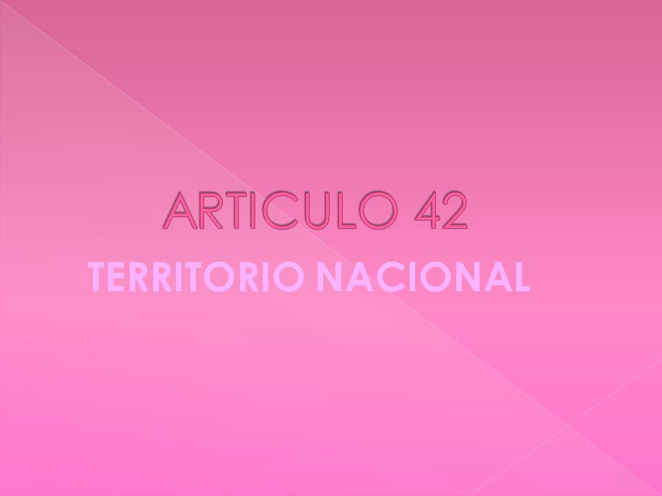 TERRITORIO NACIONAL